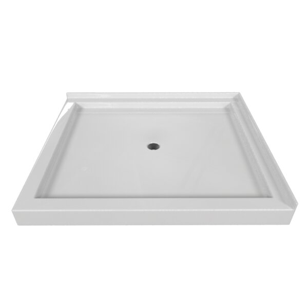Signature 48 W x 42 D Double Threshold Shower Base