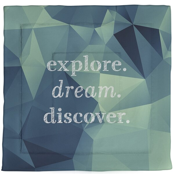 Dream Discover Single Reversible Comforter
