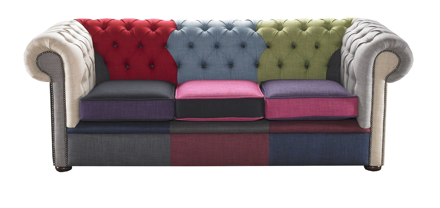 Chesterfield sofa  Portabello Interiors Chesterfield 3 Seater Chesterfield Sofa ...