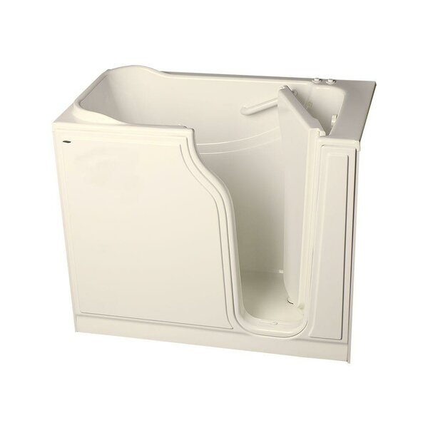 51.5L x 29.75W Gelcoat Right Hand Walk-In Combo by American Standard
