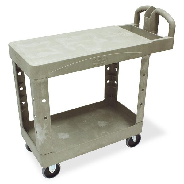Flat Shelf Utility Cart by Rubbermaid Commercial Products