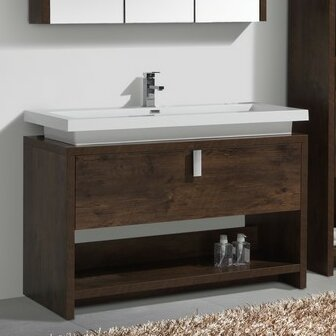Haycraft 47.25 Single Modern Bathroom Vanity Set by Orren Ellis
