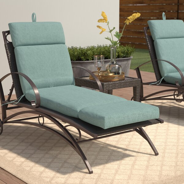 Wildwood Indoor/Outdoor Chaise Lounge Cushion by Winston Porter