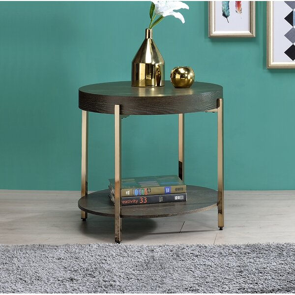 Yuliya End Table By Everly Quinn