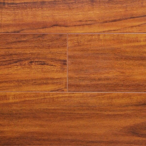 7 x 48 x 12.3mm Laminate Flooring in Brazilian Cherry by Serradon