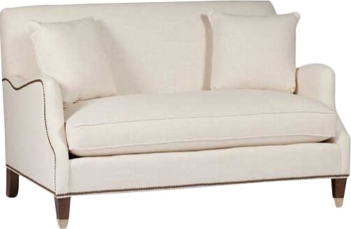 #2 Lincoln Saddle Arm Loveseat By Gabby Cheap
