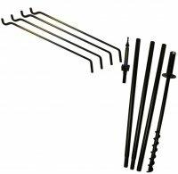4 Piece Bird feeder Pole Arm Hanger by Erva