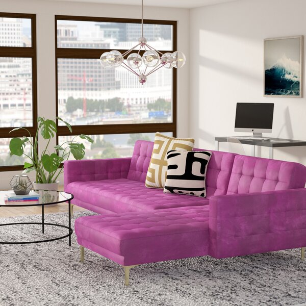 #2 Eastcotts Right Facing Sleeper Sectional By Ivy Bronx Great Reviews