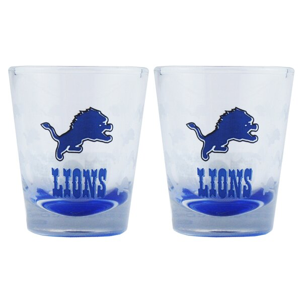 NFL Shot Glass Cup (Set of 2) by Boelter Brands