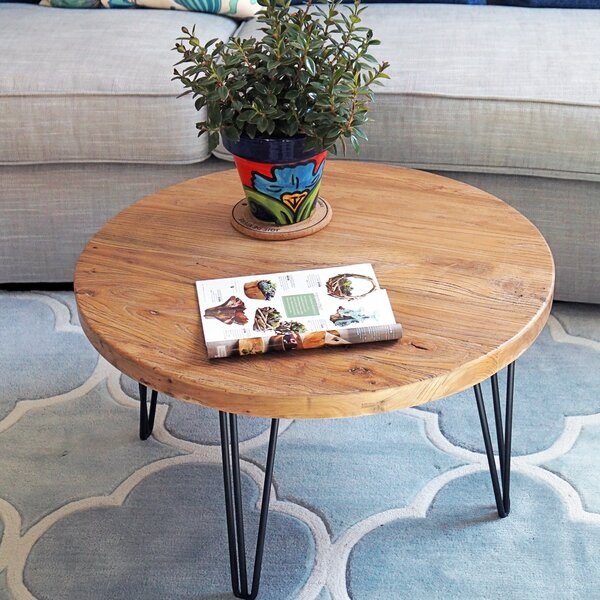 Cornelius Old Elm Rustic Coffee Table by Foundry Select