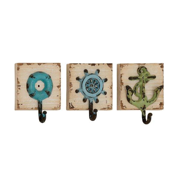 Wall Mount Hook Nautical Ship Ships Ship/'s Boat Anchor key ring bath towel rack