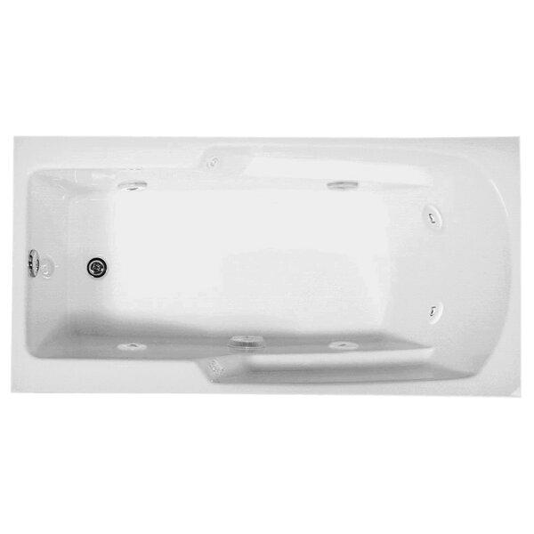 Reliance 66 x 34 Whirlpool Bathtub by Reliance