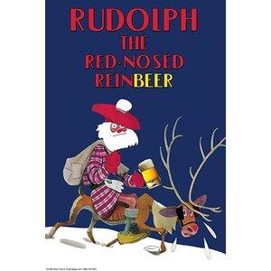 'Rudolph the Red-Nosed Reinbeer' by Wilbur Pierce Vintage Advertisement