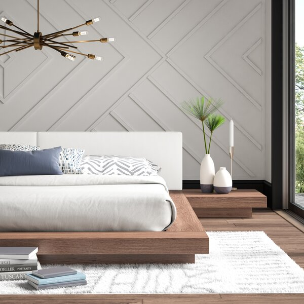 Noblit Upholstered Platform Bed by Mercury Row