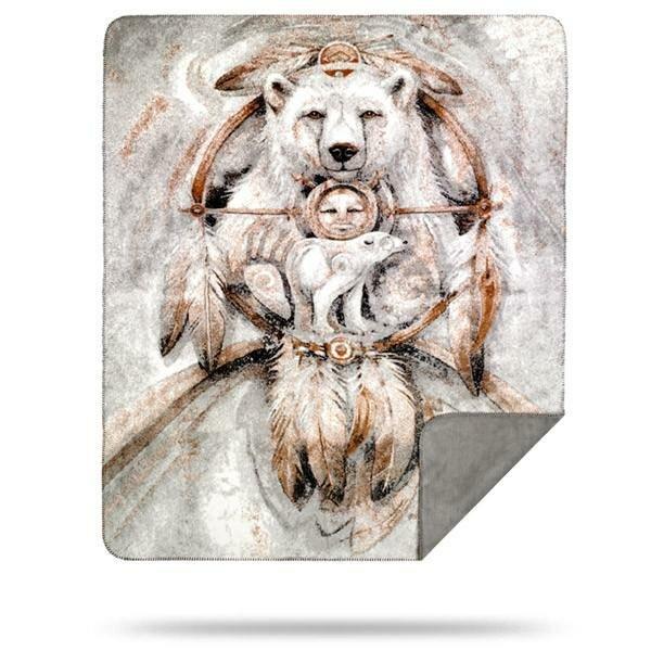 Feltonville Spirit Bear Blanket by Millwood Pines