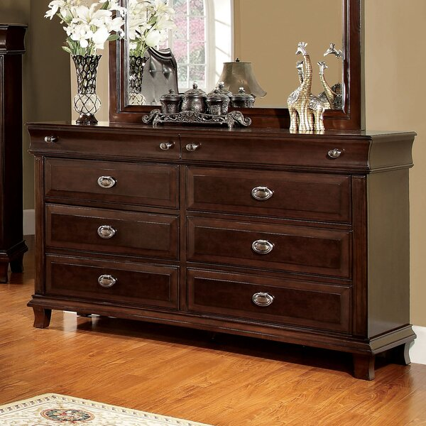 Tolsi 6 Drawer Double Dresser by Hokku Designs