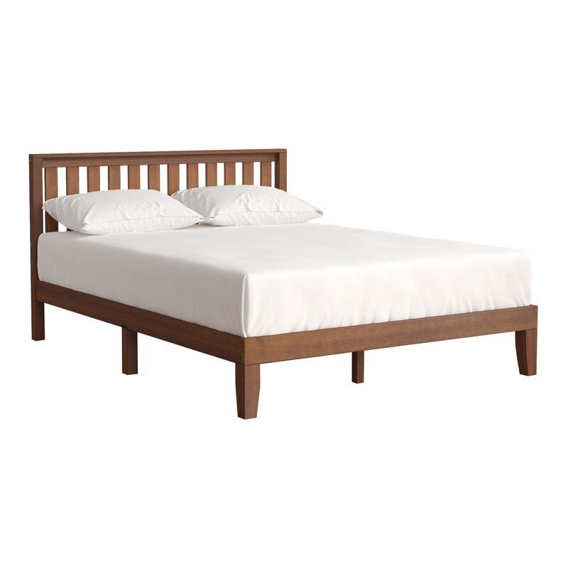 Winston Porter Dalila Solid Wood Platform Bed & Reviews | Wayfair