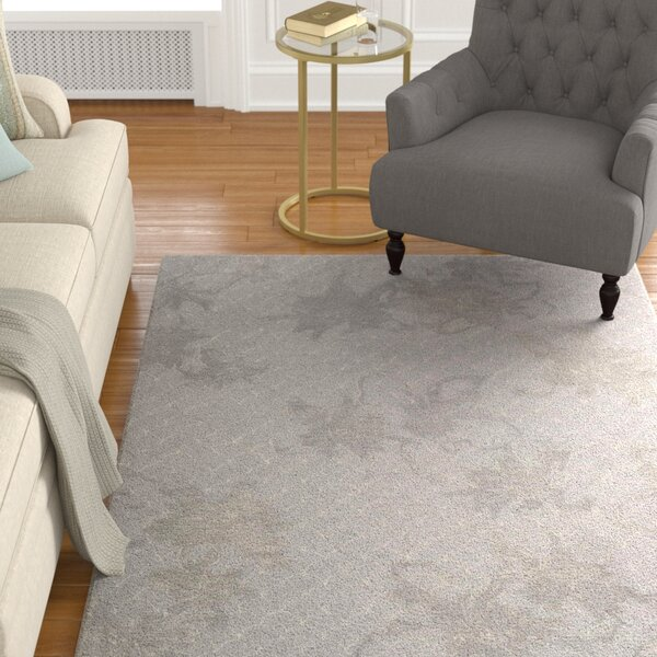 Stalbridge Hand-Tufted Silver Area Rug by Darby Home Co