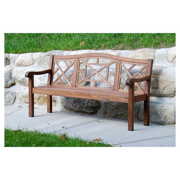 Vaughn Garden Bench by Charlton Home Charlton Home