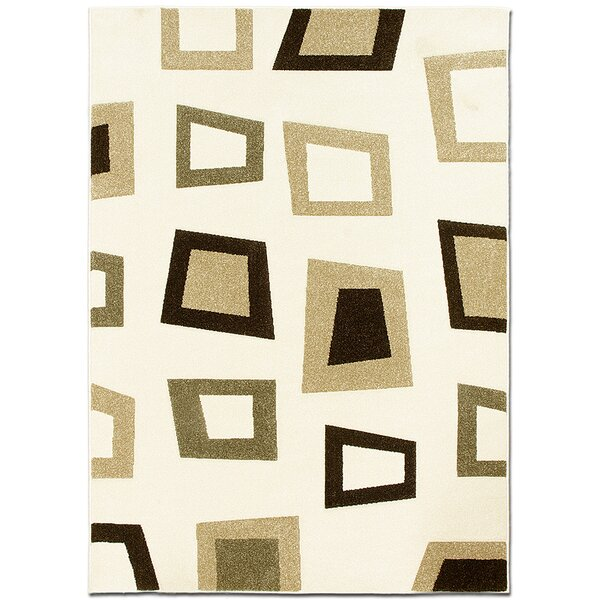 Ivory Area Rug by AllStar Rugs