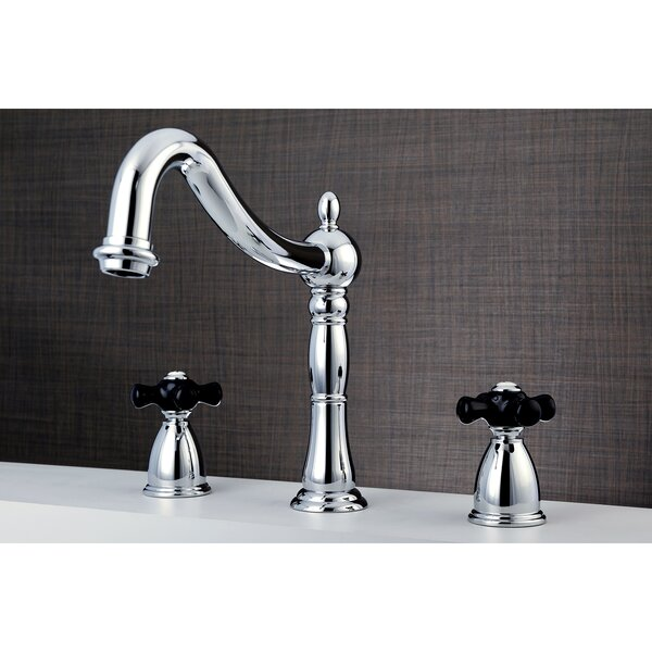 Duchess Double Handle Deck Mount Roman Tub Filler by Kingston Brass