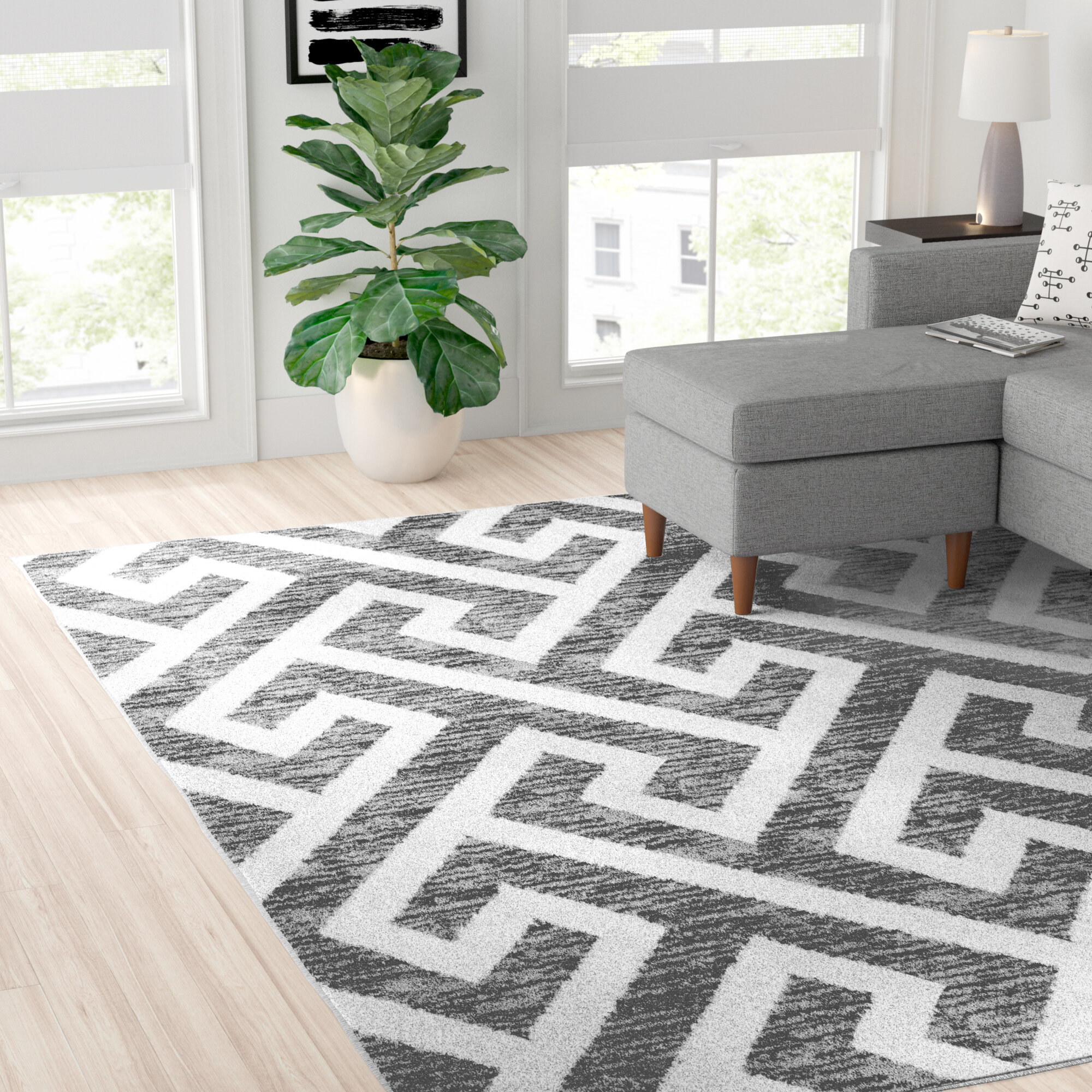 Cotton White Area Rugs Wayfair