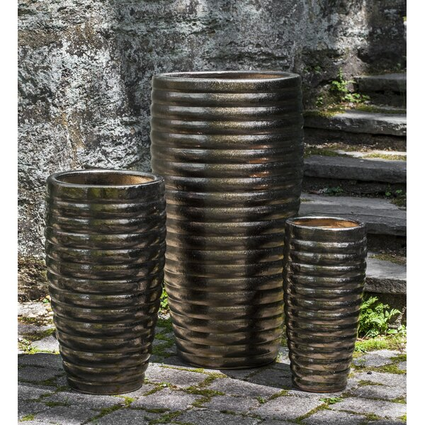 Willene Terracotta Pot Planter Set (Set of 3) by Bloomsbury Market