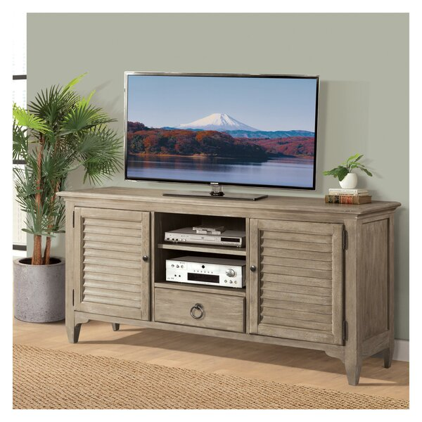 Rockfield Solid Wood TV Stand For TVs Up To 70