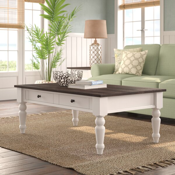 Mulford Coffee Table with Storage by Beachcrest Home Beachcrest Home
