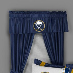 NHL Buffalo Sabres 88 Curtain Valance by Sports Coverage Inc.