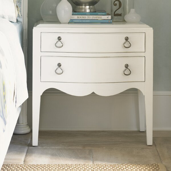 Ivory Key 2 Drawer Nightstand by Tommy Bahama Home