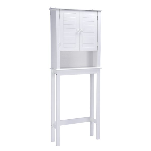Nickens 24'' W x 63'' H x 9'' D Over-the-Toilet Storage
