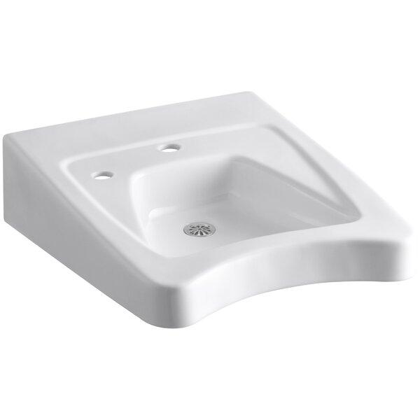 Morningside Ceramic 20 Wall Mount Bathroom Sink by Kohler