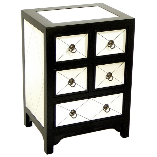 Hannes Small 5 Drawer Chest by House of Hampton