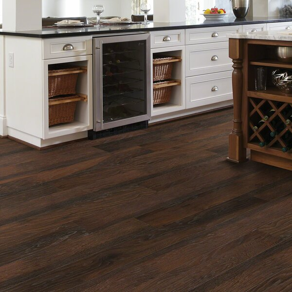 Mont Blanc 8 x 79 x 10mm Hickory Laminate Flooring by Shaw Floors