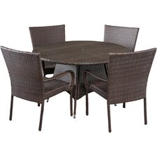 Bexton 5 Piece Dining SetModern Patio Dining Sets   AllModern. Extendable Outdoor Dining Sets. Home Design Ideas