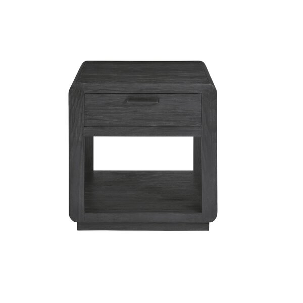 Vitrolles Floor Shelf End Table With Storage By Gracie Oaks