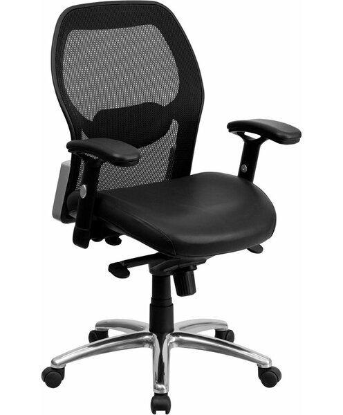Krout Mid-Back Mesh Executive Chair by Symple Stuff