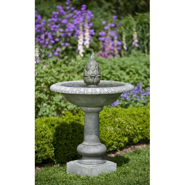 Williamsburg Concrete Pineapple Fountain by Campania International