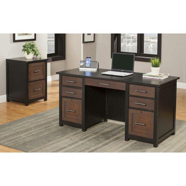 Powell 2 Piece Desk Office Suite by Latitude Run