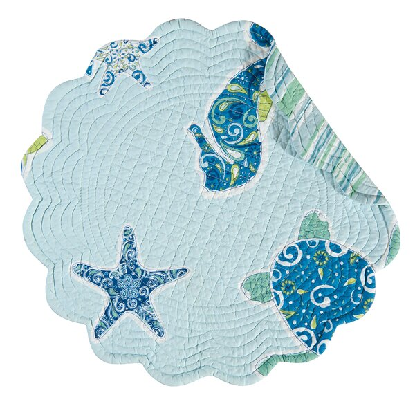 Potamos Quilted Reversible Placemat (Set of 6) by Beachcrest Home