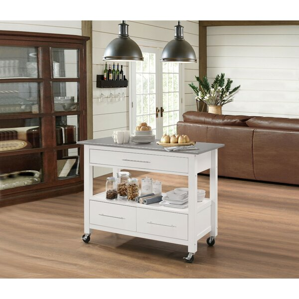Lavergne Kitchen Cart By Orren Ellis Best Choices