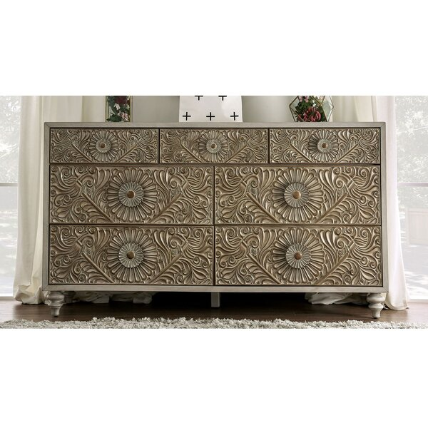 Zeller 7 Drawer Double Dresser by Ophelia & Co.