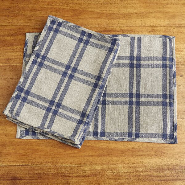 Micah Plaid Placemats (Set of 4) by Birch Lane™