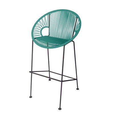 Terrific Cobblestone 31 Bar Stool Brayden Studio Base Finish Black Lamtechconsult Wood Chair Design Ideas Lamtechconsultcom