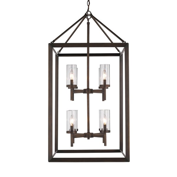 Thorne 8-Light Foyer Lantern Pendant by Three Posts