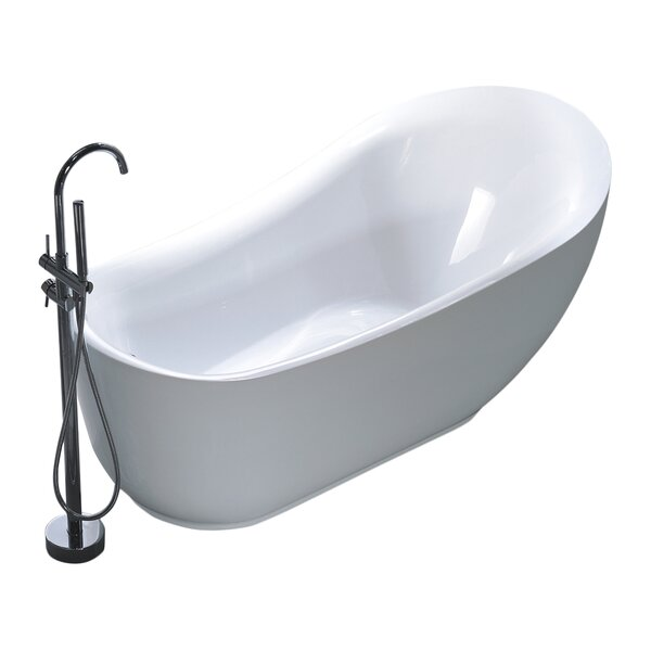 71 x 35 Soaking Bathtub by Legion Furniture