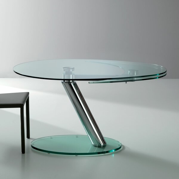 Onda Oval Extendable Dining Table by YumanMod