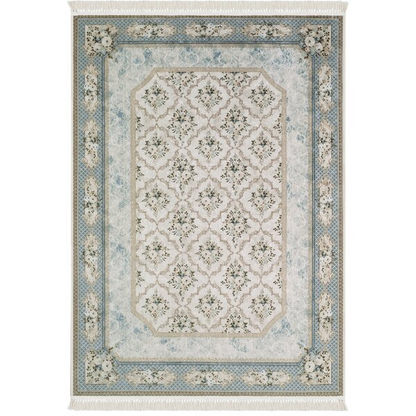 Upper Strode Blue Area Rug by Ophelia & Co.