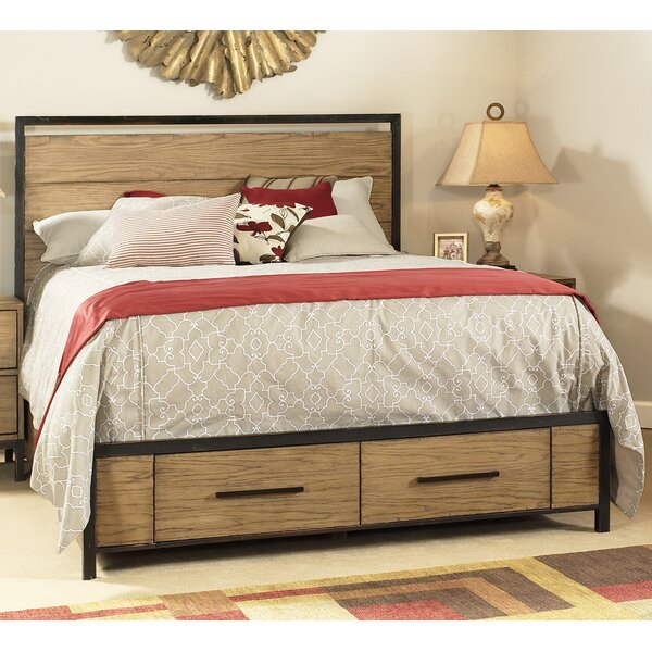 Anastagio Panel Bed by Union Rustic